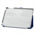 Protective PU Leather Case for Ipad MINI - Blue