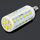 E14 24W 2160lm 3500K 48-SMD 5060 LED Warm White Light Bulb (85~265V)
