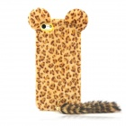 ZEAIP5Z Fox Style Protective TPU Back Case for Iphone 5 - Brown