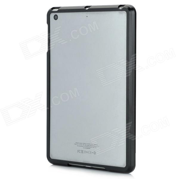 Protective Aluminum Alloy Bumper Frame for Ipad MINI - Black 16mm bore 100mm stroke aluminum alloy pneumatic mini air cylinder mal16x100 free shipping