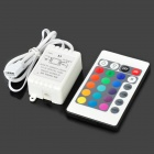 Buy 24-Key Wireless Infrared IR Remote Controller LED Light Strip - White (1 x CR2025)