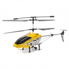 Rechargeable 3.5-CH Radio Control R/C Helicopter w/ Gyro / 5-LED - Yellow + Black + Silver