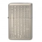 ZORRO z9631 Keyboard Style Windproof Kerosene Oil Lighter - Grey