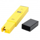"PH-009(I) Pen Style Portable 0.8"" LCD 4-Digit Liquid Acidity Tester - Yellow + Black (3 x AG13)"