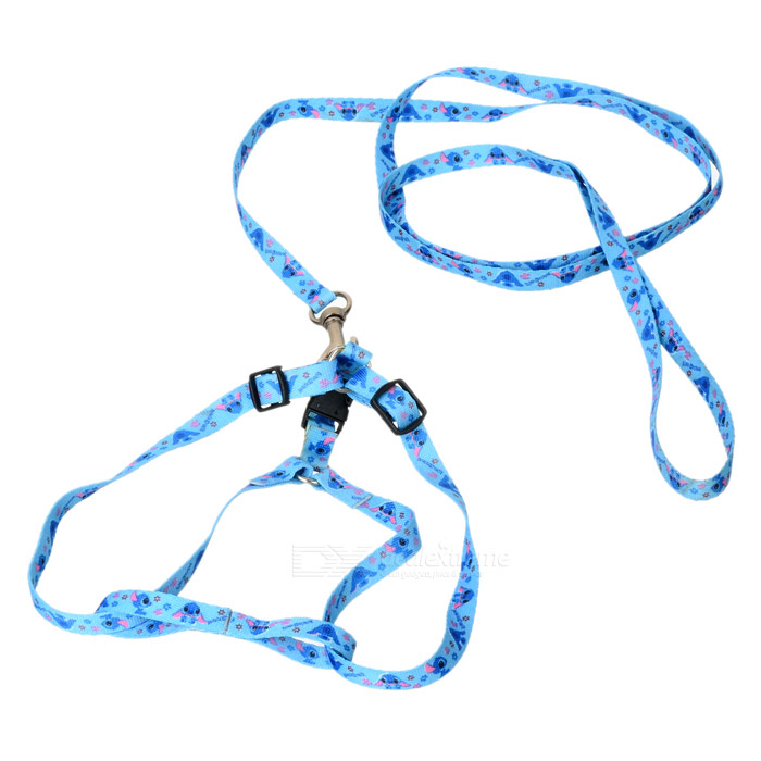 Adjustable Shoulder Strap Dog Leash (Random Color/1.6M-Cable)