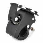 "MOT-718 Motorcycle Bike Handlebar Holder for 5.3"" GPS Phone - Black"