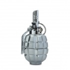 827 Grenades Shaped Alloy Lighter w/ Keychain - Silver