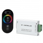 XY-G-TH03A 3-CH LED Dimmer Controller w/ 6-Key RF Touch Remote Control - Silver Gray