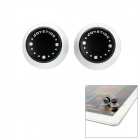 Game Controller Joysticks for Iphone / Ipad / Tablets + More - Black + Transparent (2 PCS)