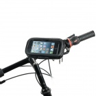 MOT-720 Universal Bike Motorcycle Swivel Mount + Waterproof Bag for Cell Phone / Navigation - Black
