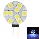 LY213 G4 2.7W 99lm 9-SMD 5050 LED White Home Light - Yellow + White