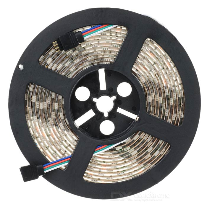 RGB 4Pin 72W 2400lm 300-SMD 5050 LED RGB Flexible Lamp Strip (12V / 5m)