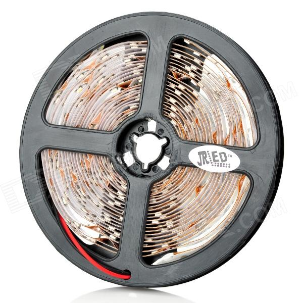 JR-SMD3528-60-W 24W 6500K 1200lm 300-SMD 3528 LED White Flexible Lamp Strip (12V / 5m) jr smd3528 60 w 24w 6500k 1200lm 300 smd 3528 led white flexible lamp strip 12v 5m