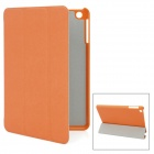Cuir Taiga Style Protective PU Leather Case for Ipad MINI - Orange