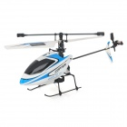 WLtoys V911 Single Propeller 4-CH 2.4GHz Radio Control R/C Helicopter w/ Gyro - Blue (Model 2)