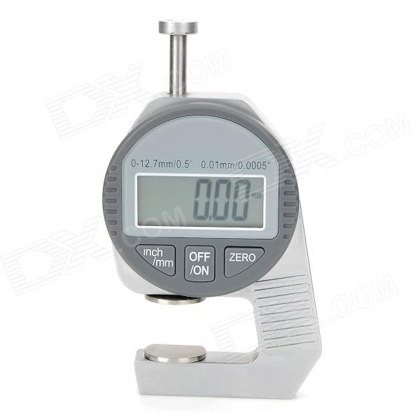 1.2'' Screen Mini Digital Thickness Gauge - Silver + Grey