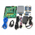K1209 STM32F407VET6 STM32 Development Core Board + 3.2''LCD + Camera + Modules - Green