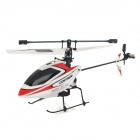 WLtoys V911 Single Propeller 4-CH 2.4GHz Radio Control R/C Helicopter w/ Gyro - Red (Model 2)