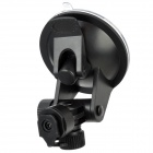 HongChuang WWB65-E-PV 180 Degrees Adjustable ABS Suction Cup Mount Stand for GPS / Car DVR - Black