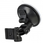 HongChuang XB65-A 180 Degrees Adjustable ABS Suction Cup Holder Mount for GPS / Car DVR - Black
