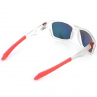 OREKA 9135 UV400 Protection Resin Lens Polarized Sunglasses - Translucent + Red