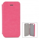 KALAIDENG Protective PU Leather Case for iPhone 5 - Deep Pink