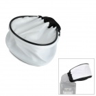 Universal Soft Cloth Flash Diffuser - White + Black