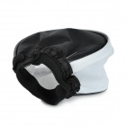 Universal Soft Cloth Flash Diffuser - Branco + Preto