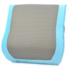 Zero Zone L016 Comfortable Soft Memory Foam Waist Cushion Pillow - Blue + Grey