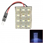 D13011519X Highlight T10 / Festoon 1.2W 84lm 12-LED White Light Car Leselampe - (DC 12V)