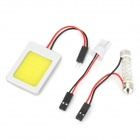 D13011502X T10 / Festoon 2W 200lm LED White Car Dome / Reading Light