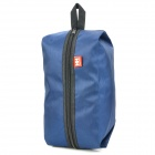 NatureHike-NH 001 Multifunction Outdoor / Travel Zippered Storage Body Hygiene Bag - Deep Blue