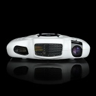 HK720 Portable Smart Mini Multimedia Player LCOS Projector w/ HDMI / VGA / AV / SD - White