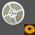 Waterproof 48W 2400lm 600-SMD 3258 LED Warm White Car Decoration Light Strip (5m)