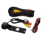 Wired 628 x 586 CMOS HD Car Rearview Camera w/ Clip for VW 09 / 10 Sagitar / Touran / Golf - Black