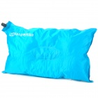 Naturehike ZDCQZT Outdoor Auto Air Inflatable Cushion Pillow for Traveling - Blue (50 x 30cm)