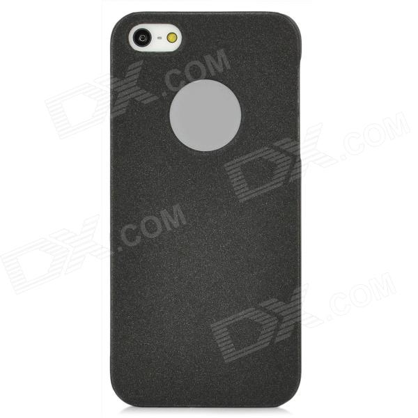 BASEUS RCAPIPH5-01 Ultra-Thin Protective Frosted Plastic Case w/ Screen Film for Iphone 5 - Black