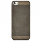BASEUS CLAPIPH5-01 Protective Plastic Back Case w/ Screen Protector for Iphone 5 - Grey