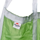naturehike-nh nylon leve 190D + r / s rede - verde (90 kg max)