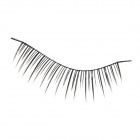 ZX-038 Decoration False Curled / Straight Eyelashes for Beauty Makeup Set - Black (10 Pair)