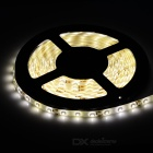 Waterproof 21W 1200lm 300-SMD 1210 LED Warm White Car Decoration Light Strip (5m)