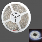 Waterproof 24W 2100lm 300-SMD 3528 LED White Car Decoration Light Strip (5m)