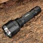SMALL SUN ZY-C18 Cree XR-E Q5 250lm 5-Mode White Flashlight - Black (1 x 18650)