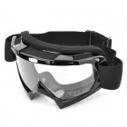 T815-7 Racing Motorcycle Skiing Protection Sunglasses Goggles - Black
