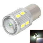 H2013091366 1156 9W 450~500lm 12-SMD 5730 LED + 1-CREE XP-E R3 White Car Brake / Backup Light
