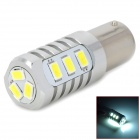 H201309330 1156 5W 250~300lm 12-SMD 5630 LED White Light Car Steering / Backup Lamp - (DC 12~24V)