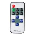 Mini RF 433.92MHz Single Color LED Strip Dimmer Controller Set - White + Red + Black(DC 12~24V)