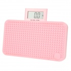 "YESHM YHB1305-PK DIY 2.5"" LCD Portable Electronic Weighing Scale - Pink (150Kg / 0.1Kg)"