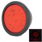 D13011508X Round Shape 7.5W 250lm 640nm 50-LED Red Light Car Brake Warning Light - (DC 12~24V)