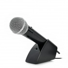 PEGA 5-in-1 Wireless Microphone w/ Receiver for PS2 / PS3 / Xbox 360 - Black + Silver (2 x AA)